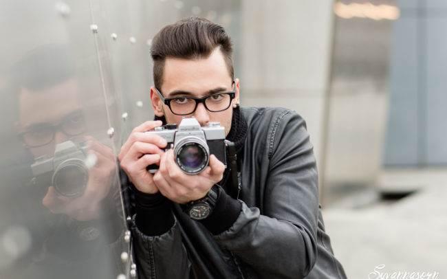 photographe genève séance photo homme maquilleuse maquillage make up shooting portrait extérieur