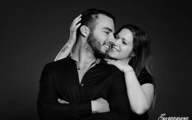 séance photo genève geneva photographe maquillage maquilleuse couple noir blanc