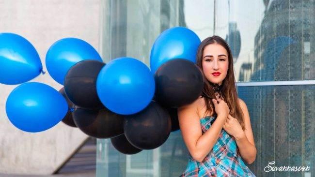 photographe genève suisse maquilleuse maquillage femme extérieur carouge ballons pin up portrait