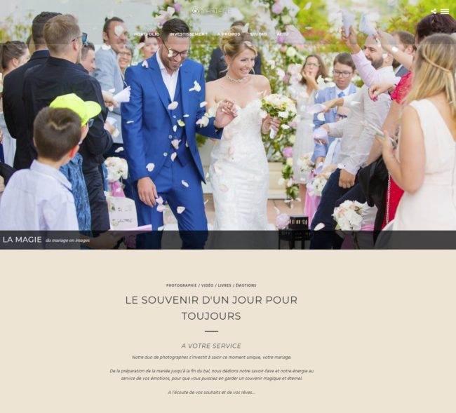 Découvrez notre nouveau site dédié à ce jour unique et intemporel, le mariage.